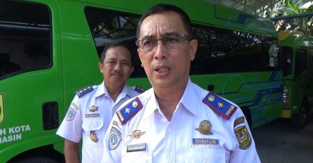 Ichwan Noor Chalik Kepala Dishub Kota Banjarmasin