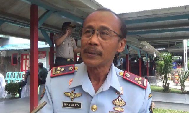 Imam Setya Gunawan Kalapas Kelas ll A Teluk Dalam Banjarmasin.