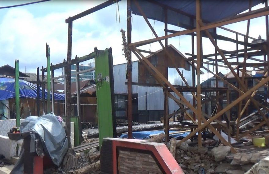 Korban Kebakaran Harapkan Bantuan Material