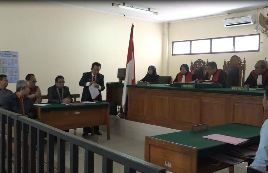 Kumpulan Advokat Bacakan Gugatan ke P3HI di Pengadilan