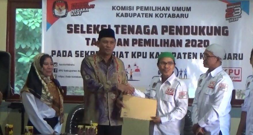 Mantap Maju Perseorangan, Wabup Kotabaru Serahkan Mandat ke KPU