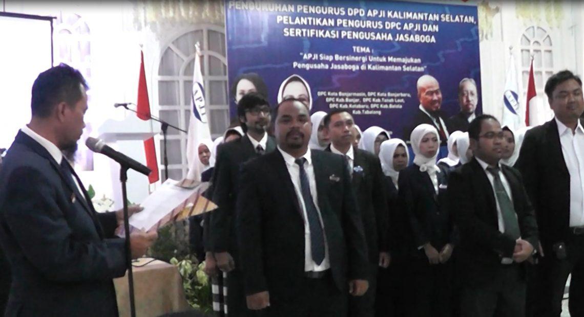 Pelantikan DPC & DPD APJI Kalsel