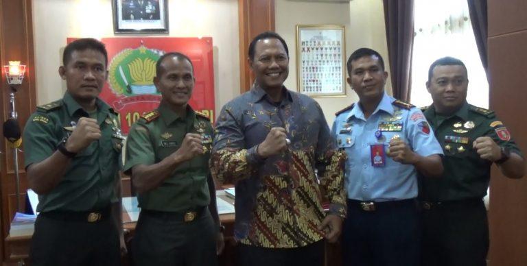 Rapat DPP RI dengan TNI