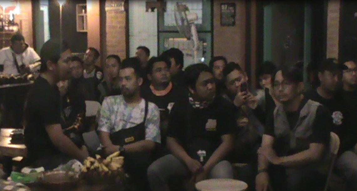 Ratusan Bikers Ngumpul Disilaturahmi Brotherhood Mc 1% Borneo Chapter