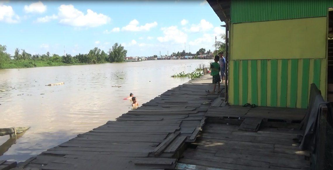 Rencananya pemerintah kota Banjarmasin akan membangun siring di kawasan ini