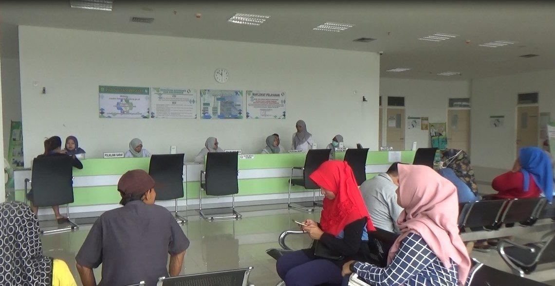 Suasana di RS Sultan Suriansyah