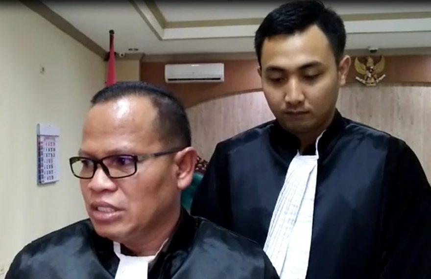 Syaiful Bahri Jaksa Penutut Umum.