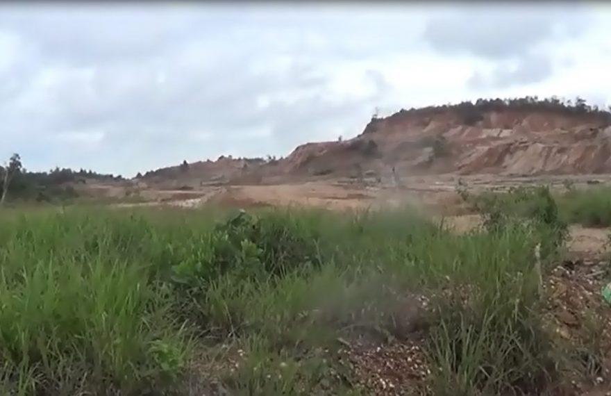 Tambang Galian C di Gunung Kupang Ilegal