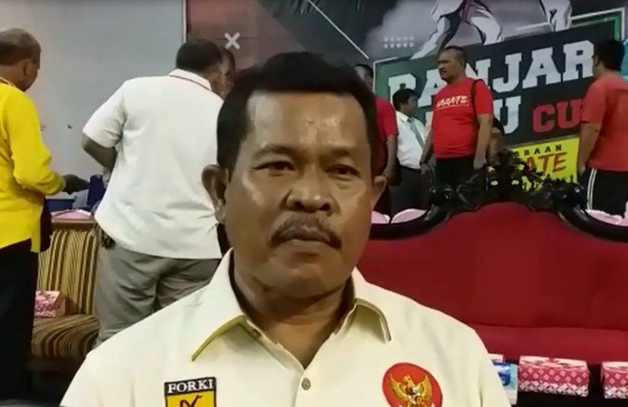Teguh Mulyawan Koordinator Forki Banjarbaru