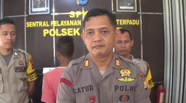 AKP Catur Widiyanto, kapolsek Bungur