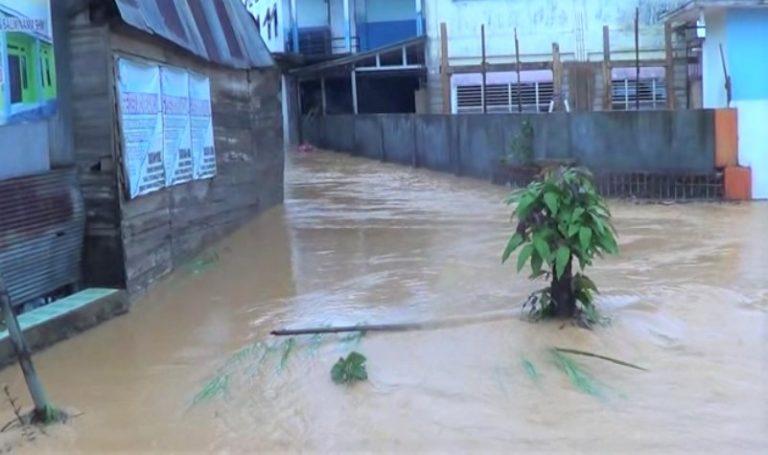 banjir bandang yang terjadi di Banjarbaru