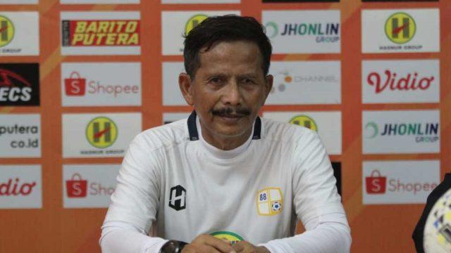 Djajang Nurjaman Pelatih Kepala Barito Putera.