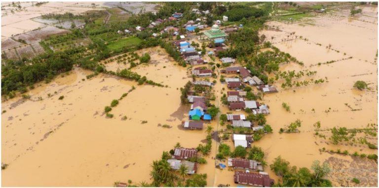 Banjir Melanda Sejumlah Wilayah di Kalimantan Selatan