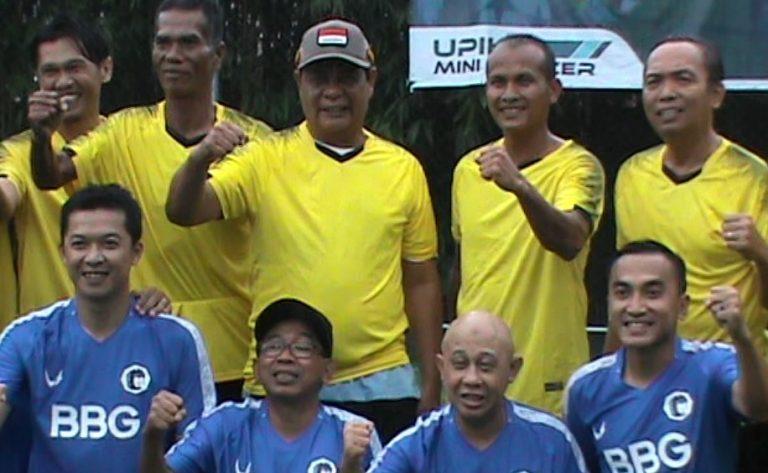 Laga Persahabatan Mini Soccer, Paman Birin All Stars Vs Rico Ceper CS