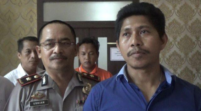 Kompol Ade Papa Rihi (kanan), kasat reskrim Polresta Banjarmasin