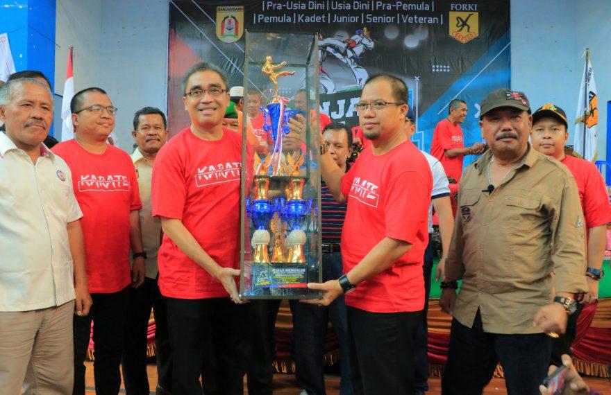 pembukaan Kejuaraan Karate Tournament dan Festival Banjarbaru CUP 1 2020