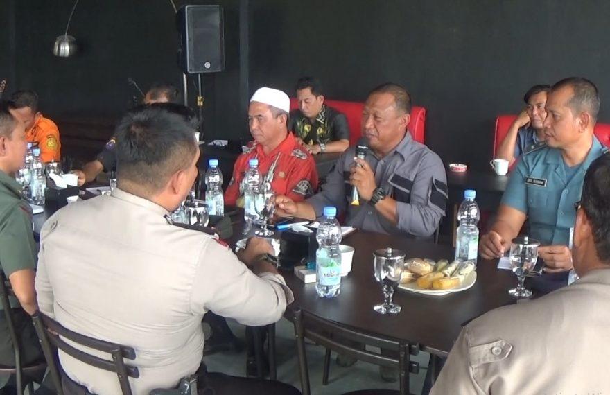 BPBD kabupaten Kotabaru menggelar rapat koordinasi