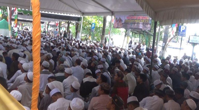 Ribuan Jemaah Padati Acara Habib Basirih ke-73