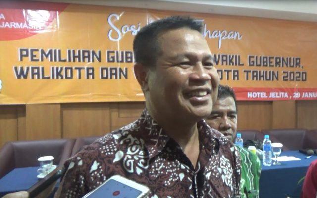 sarmuji ketua kpu provinsi