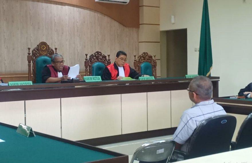 sidang dugaan korupsi RSUD Ulin