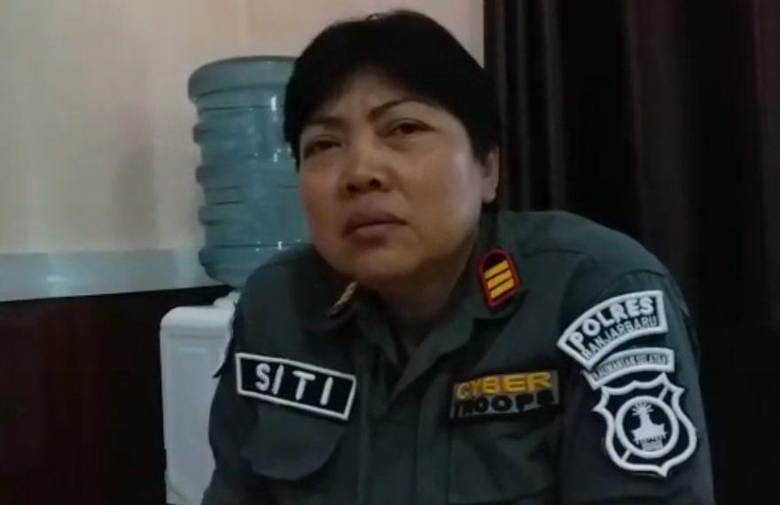 AKP Siti Rohayati, kasubbag humas Polres Banjarbaru