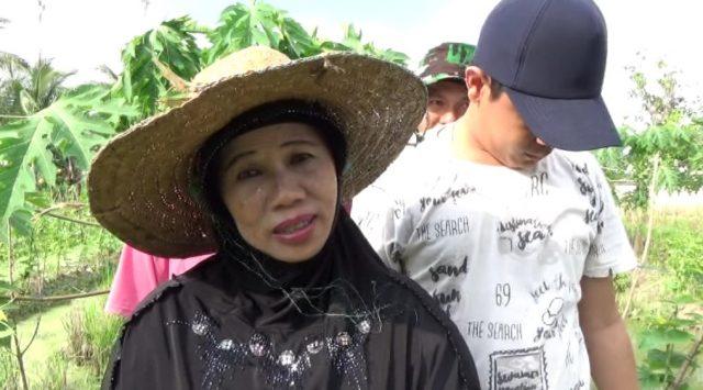 Siti Jahura, ketua RT 02 jalan Lorong Bupati