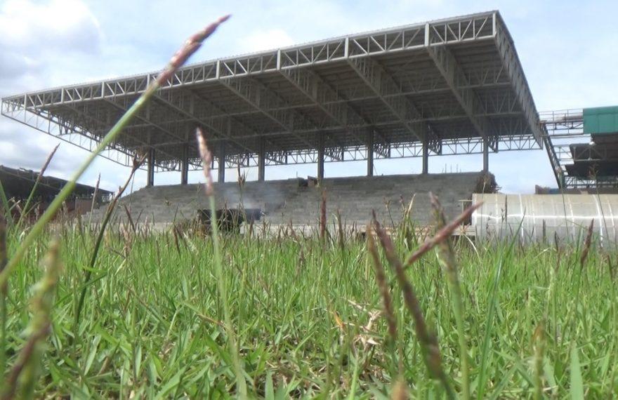 renovasi stadion 17 mei, pembangunan tahap pertama