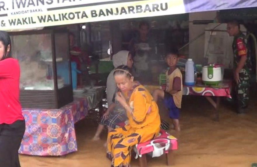 warung makan kebanjiran