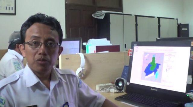 Wiji Cahyadi, karyawan BMKG Banjarbaru