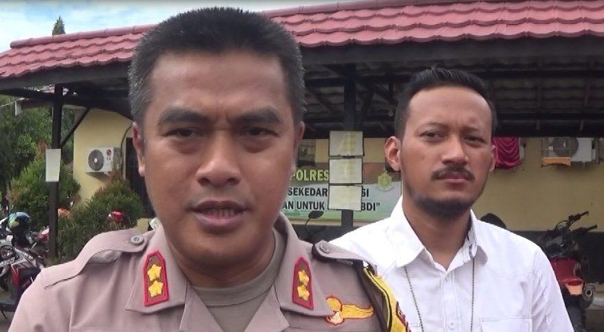 AKBP Eko Hadi Prayitno(kiri) Kapolres Tapin
