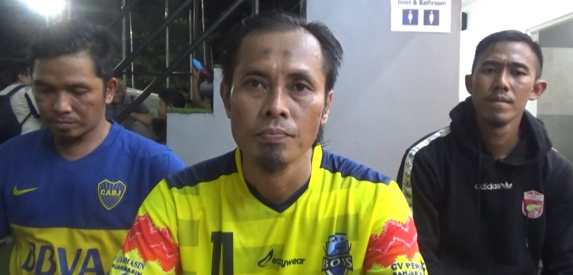 Abdul Fatah (tengah) ASS Manager Tim Peseban Banjarmasin