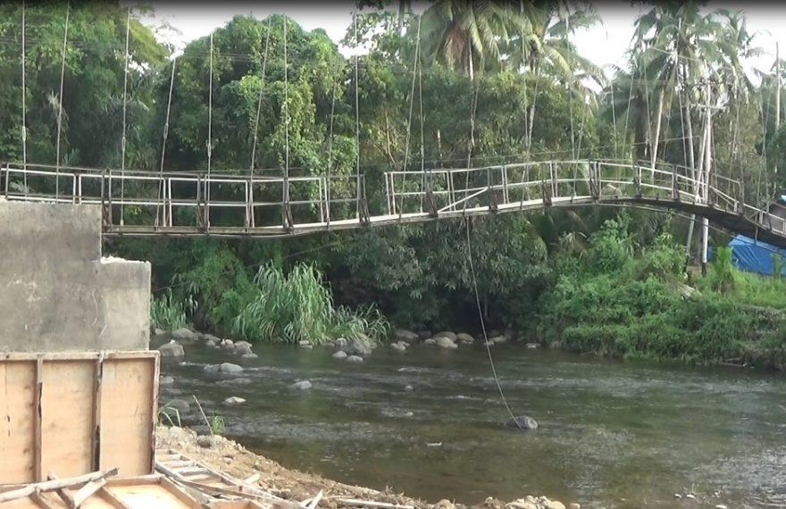 Akan diperbaiki jembatan penghubung antara Desa Loksado dengan Desa Loklahung