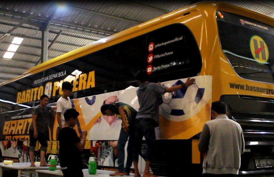 Bus Barito Dengan Design Baru