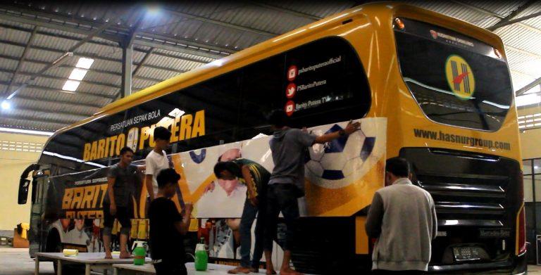 Bus Barito Siap di Launching Dengan Design Baru