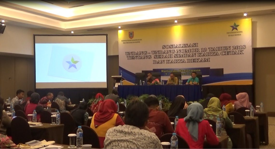 Dispersip Sosialisasi UU Karya Cetak dan Karya Rekam