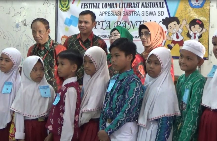 Festival Lomba Literasi siswa Nasional tahun 2020