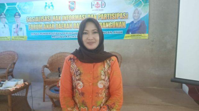 Husnul Hatimah Kepala Dinas Pemberdayaan Perempuan dan Perlindungan Anak Provinsi Kalimantan Selatan