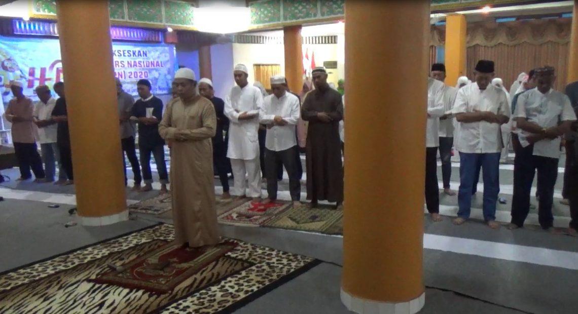 PWI Kalsel Gelar Shalat Hajat dan Doa Bersama untuk Kelancaran HPN 2020