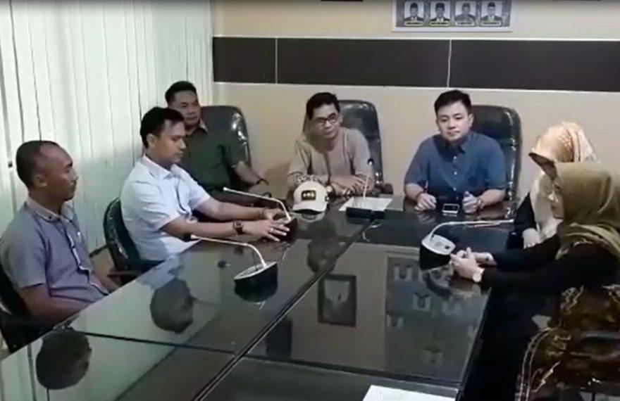Pembatalan Rapat dengan BKD karena ke Bali