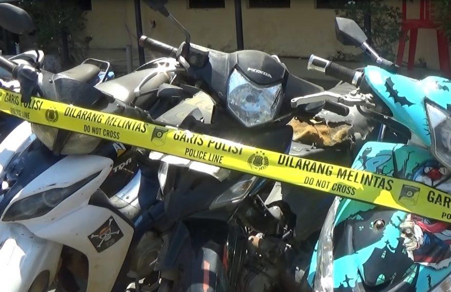 Polres Kotabaru Berhasil mengamankan sepeda motor yang dicuri