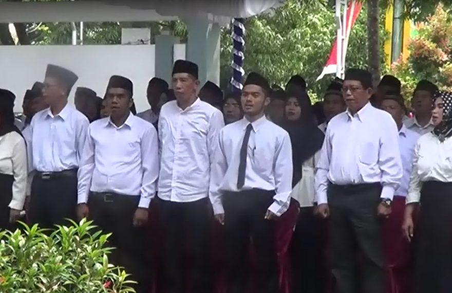 Terpaksa Dilantik Ulang anggota BPD Banjar