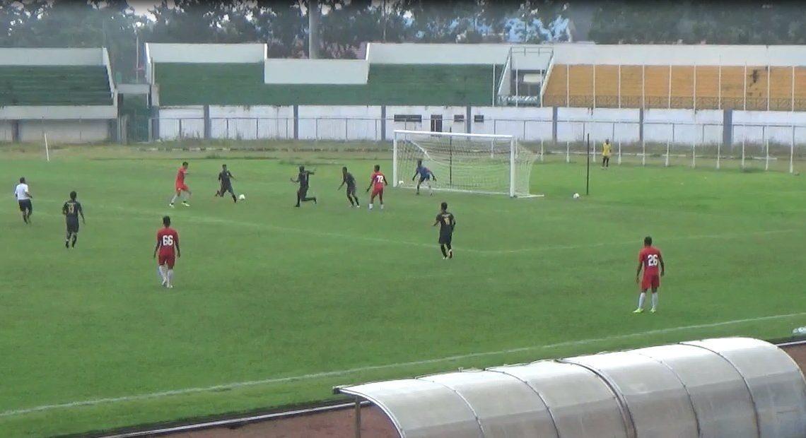 Tim Barito Putera menggelar uji coba pertama melawan tim bersaudara FC