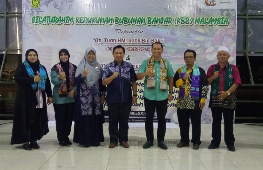 Warga Negari Perak Apresiasi Sambutan Walikota Banjarmasin Ibnu Sina