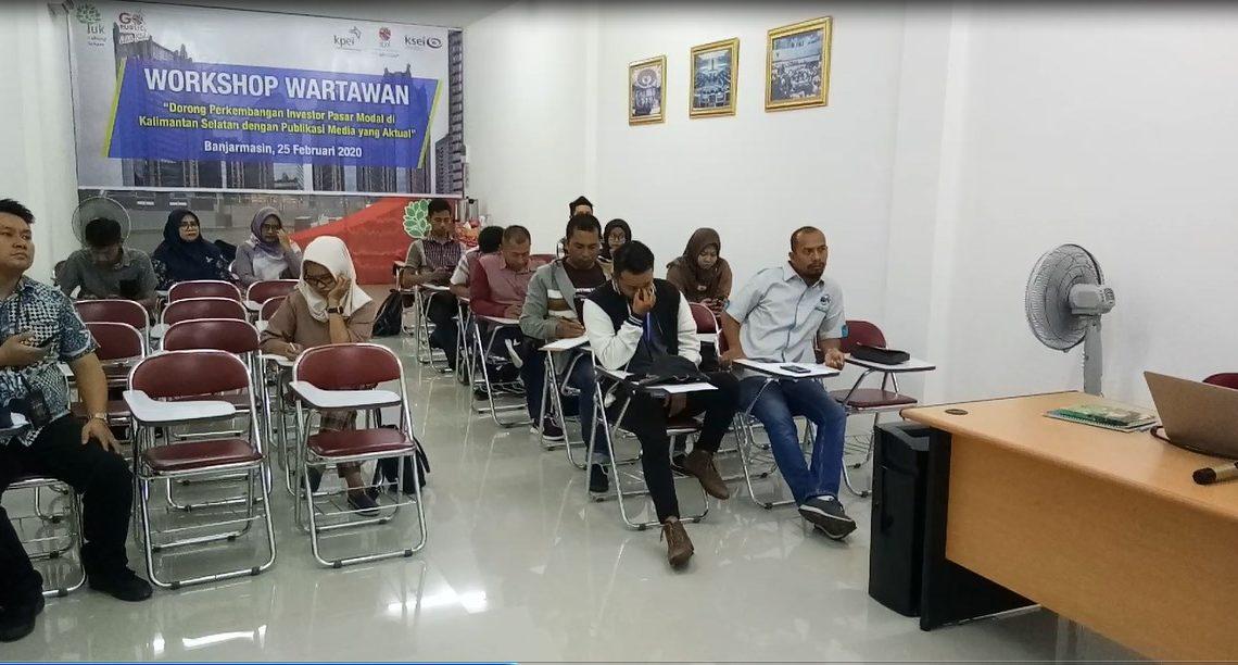 Workshop bersama wartawan