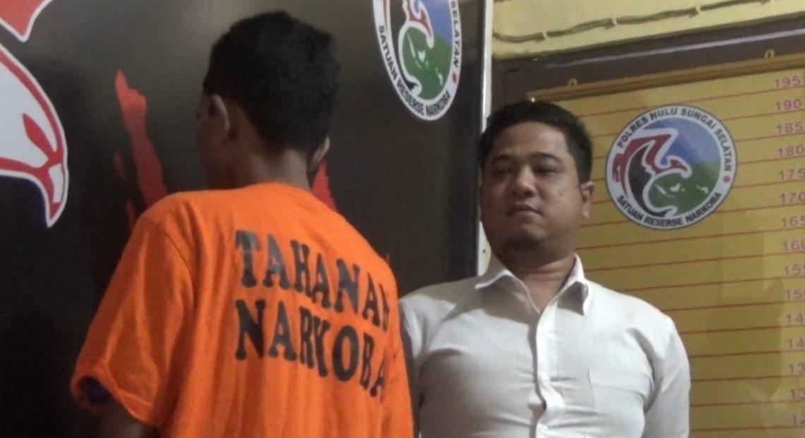 Asrul, pengedar narkoba
