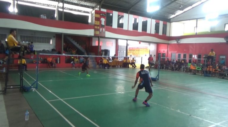 51 Pelajar Ikuti Festival Olahraga Cabor Bulutangkis