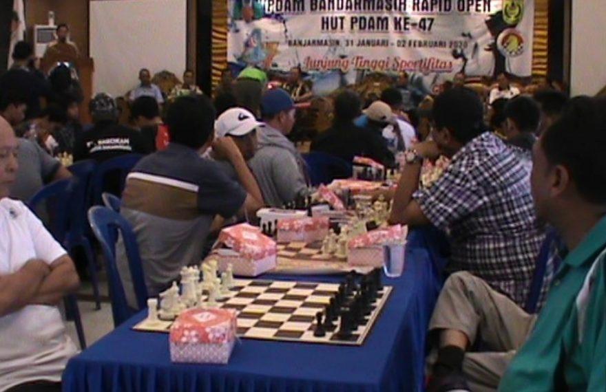 Kejuaraan catur cepat, PDAM Bandarmasih