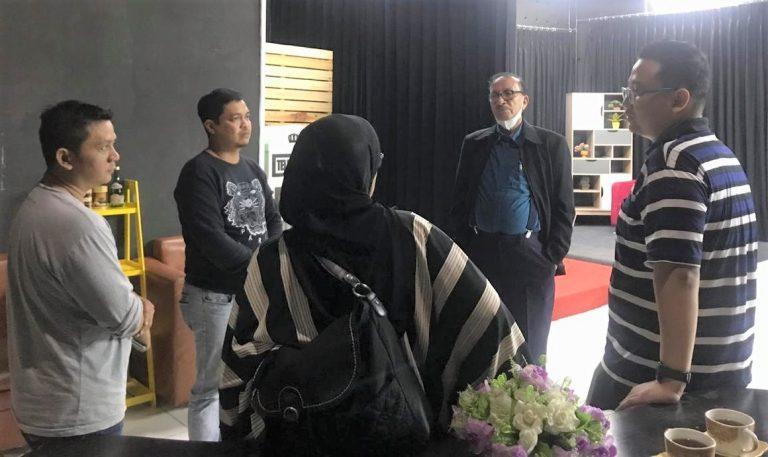 Dewan Penasehat PWI Berkunjung ke Duta TV
