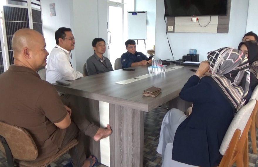kunjungan DJP Kalselteng ke Duta TV