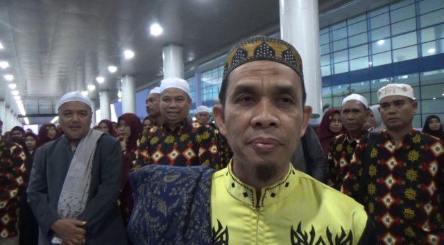 ucap H Ahmad Sanusi Ibrahim, Pembimbing Umrah